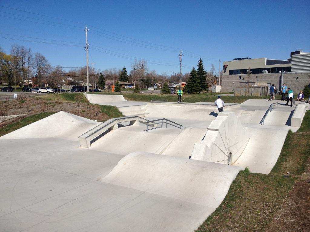 Fort Erie skatepark 4