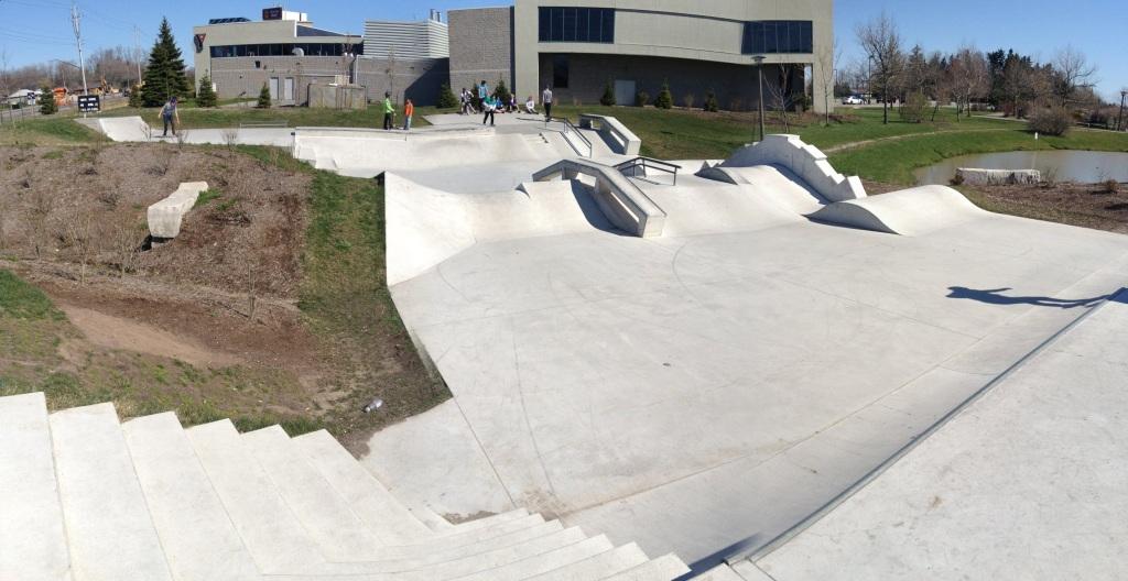 Fort Erie skatepark 1