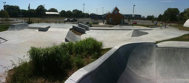 picton skatepark bowl