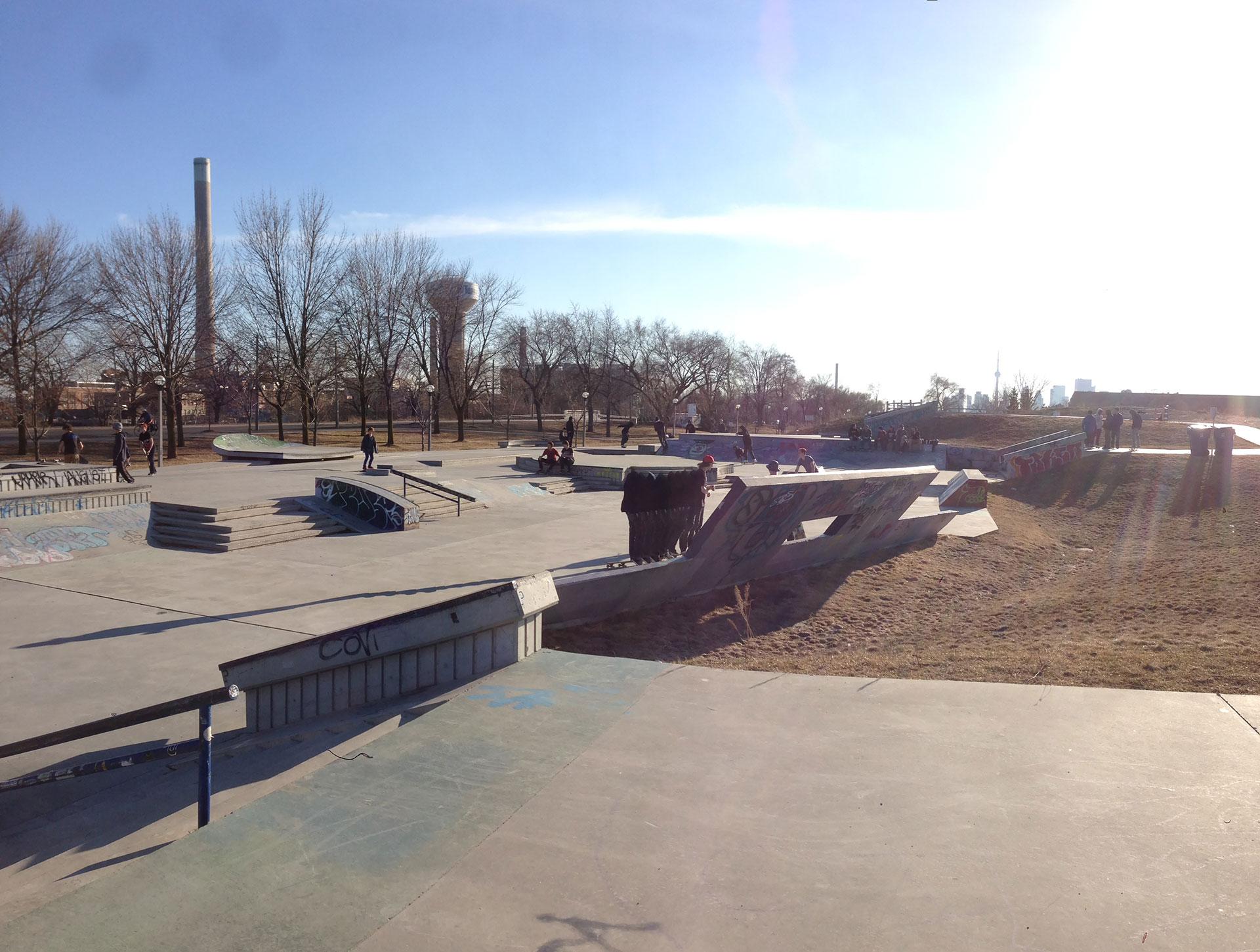 Toronto Beaches skatepark