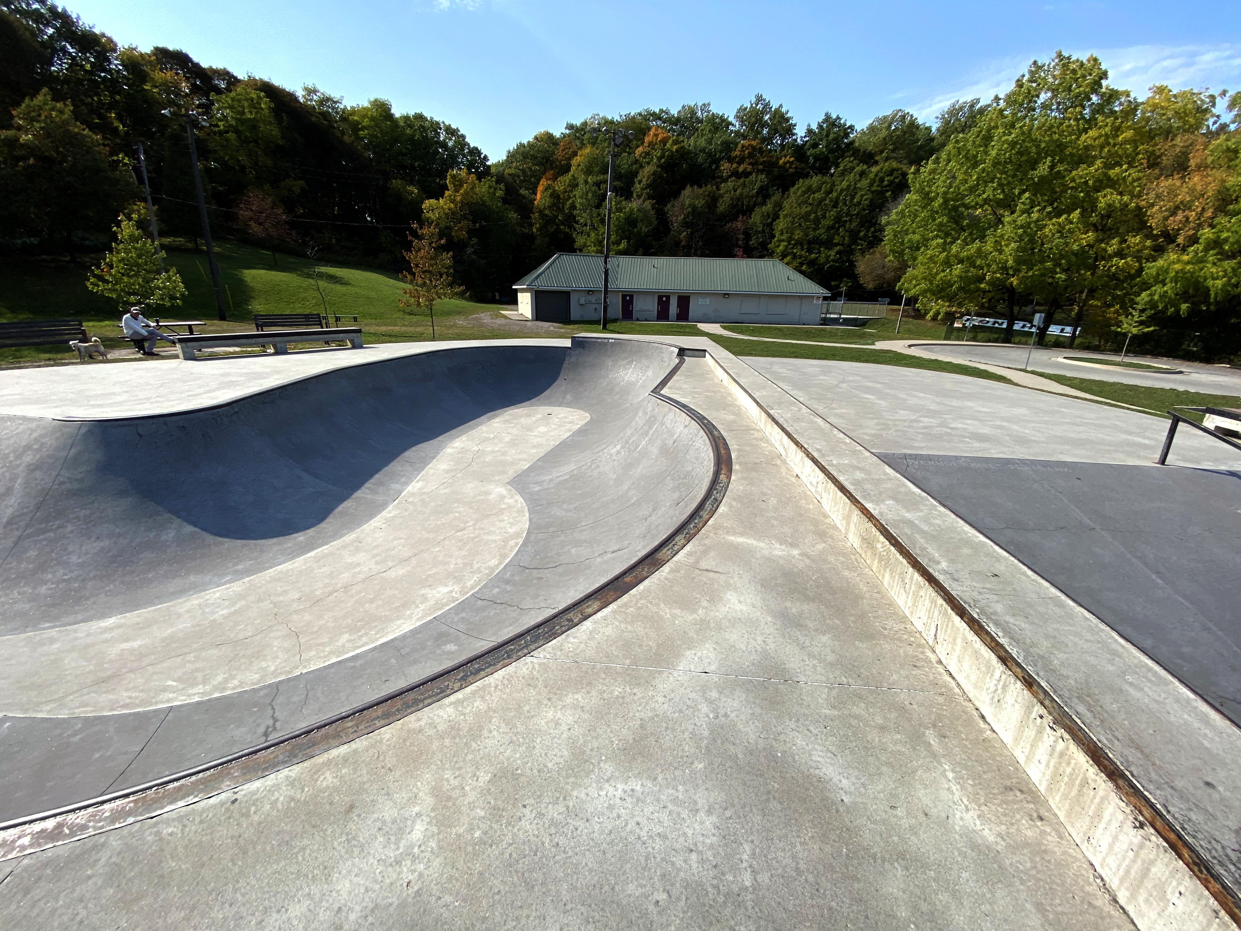 Fonthill skatepark bowl