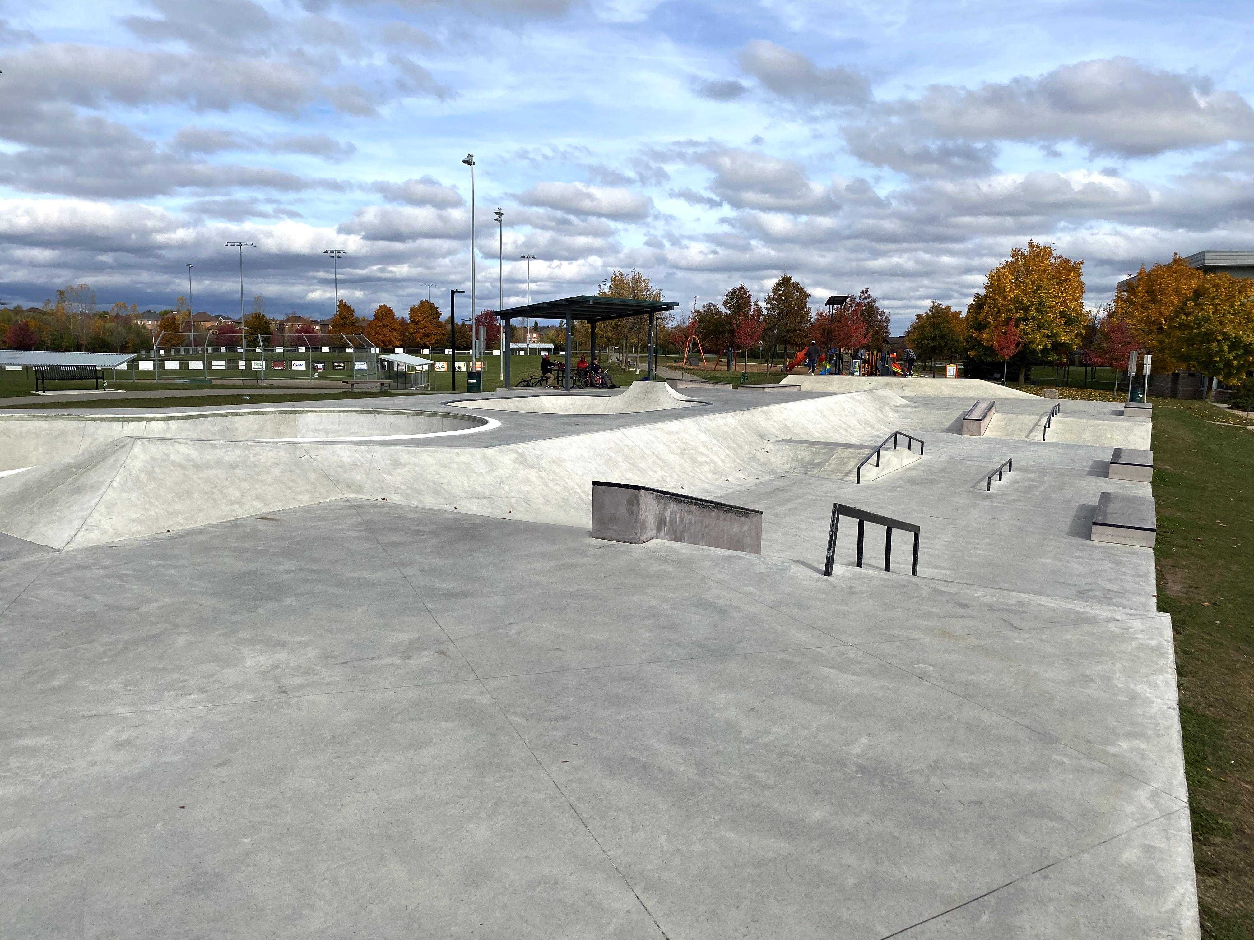 Georgetown skatepark street course