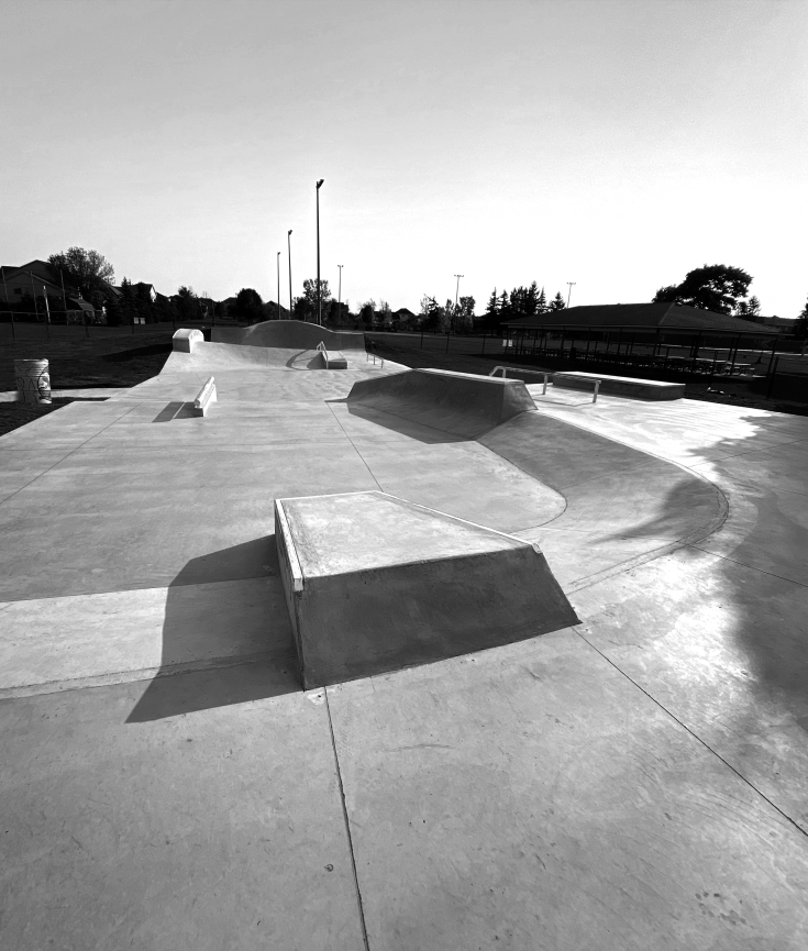 niagara on the lake skatepark, Virgil skatepark