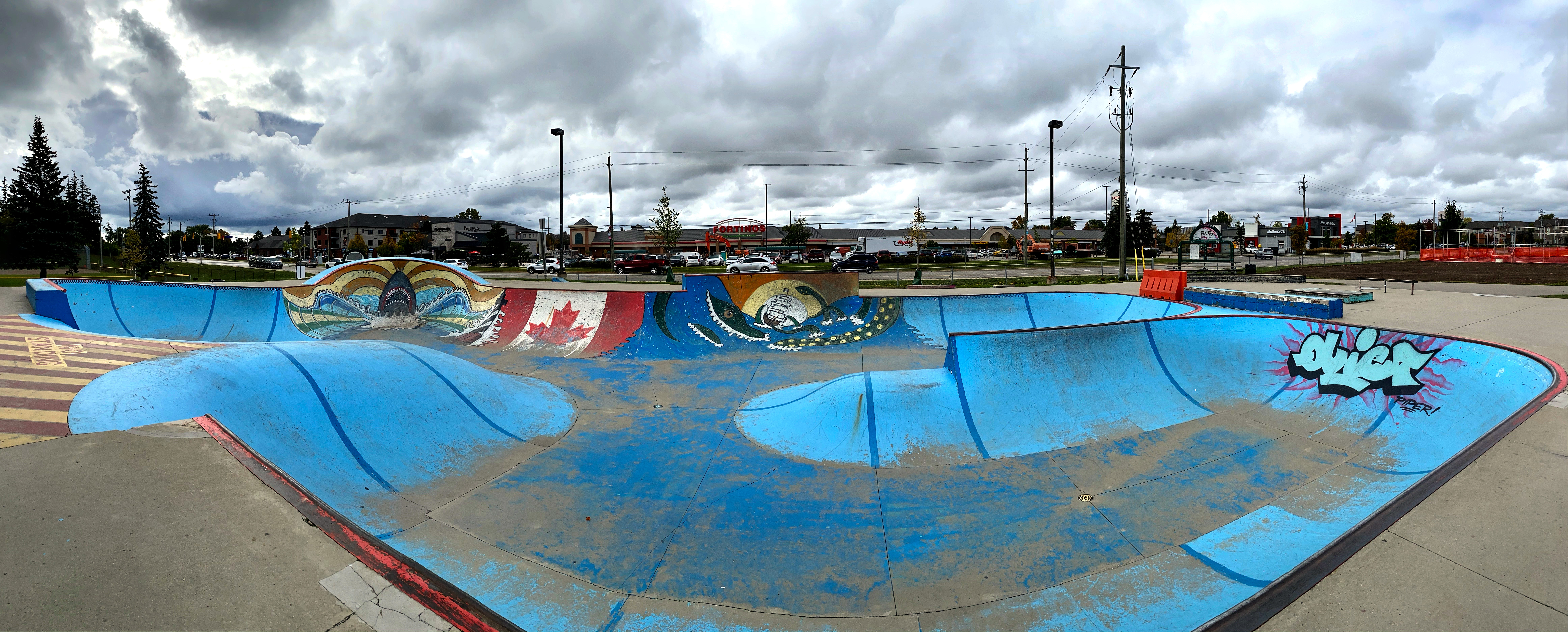 waterdown skatepark bowl