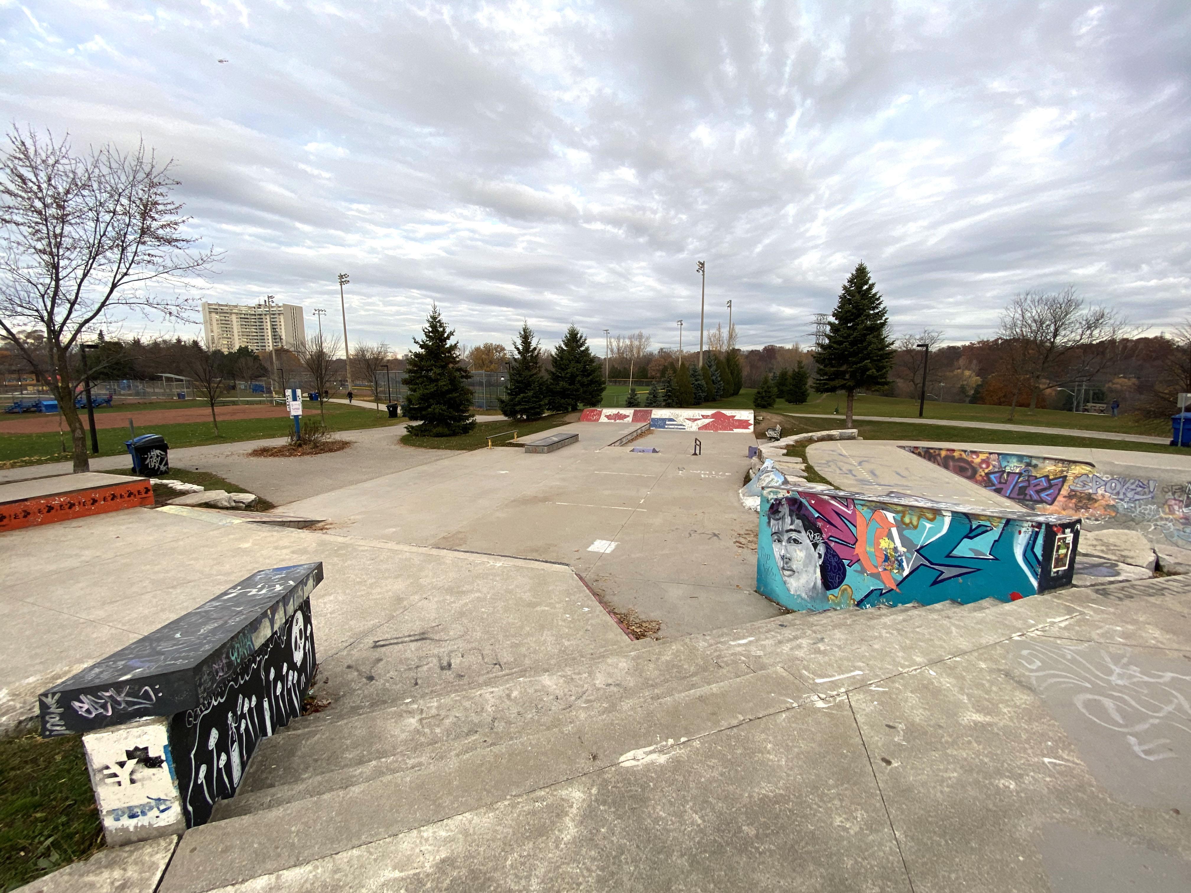 East York Skatepark in Toronto