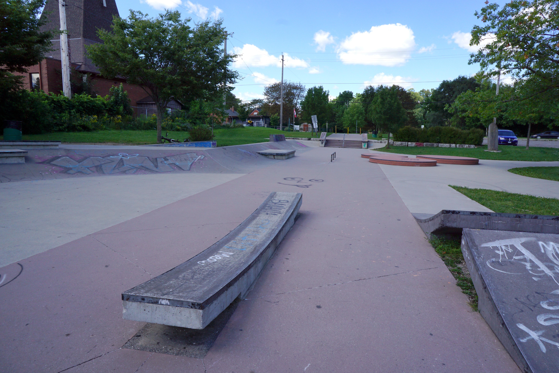 London kiwanis skatepark