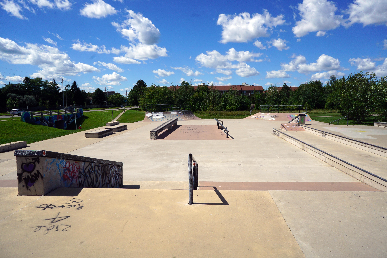 London white oaks skatepark