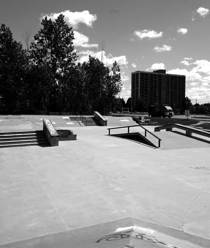 London white oaks skatepark