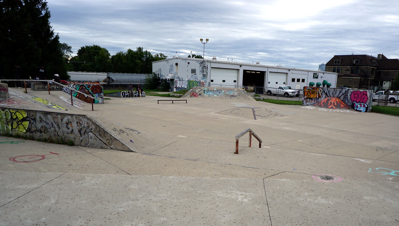 Wollsley Barracks London skatepark