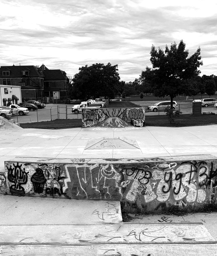 wollsley barracks skatepark in London