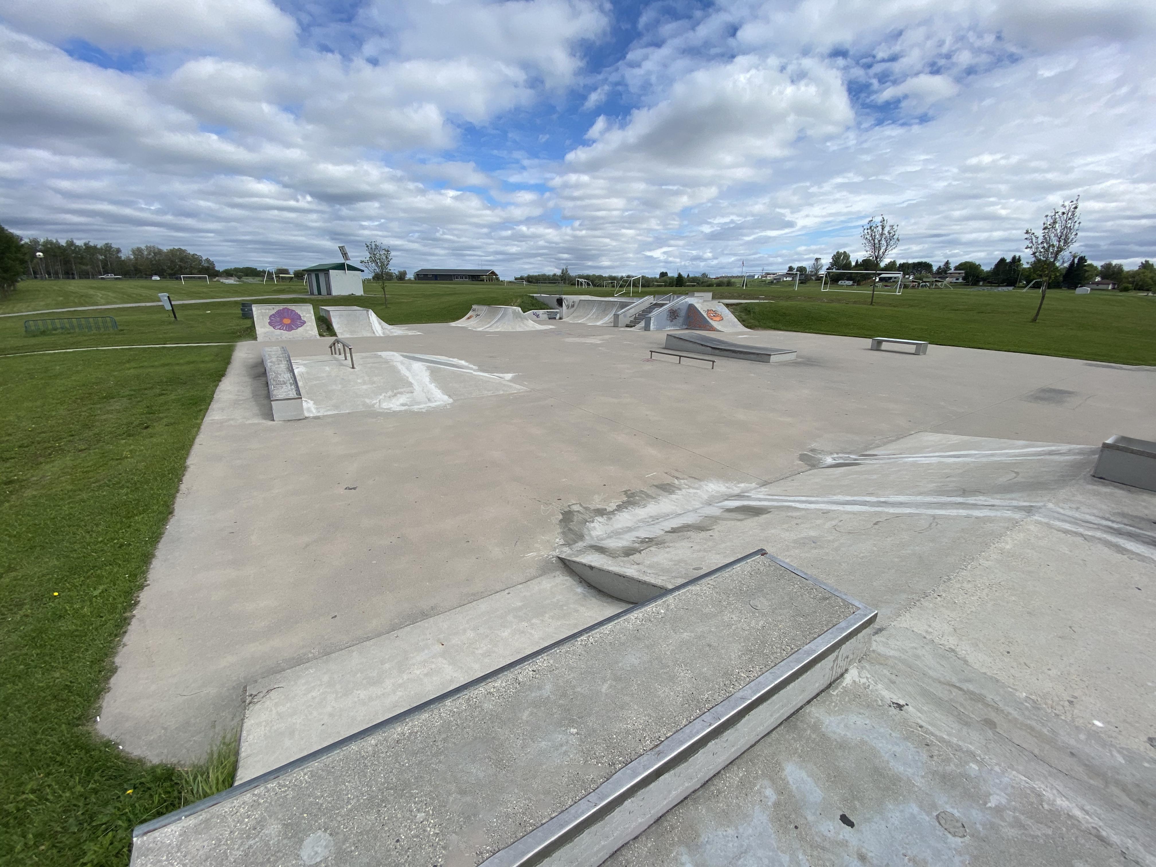 Dryden skatepark