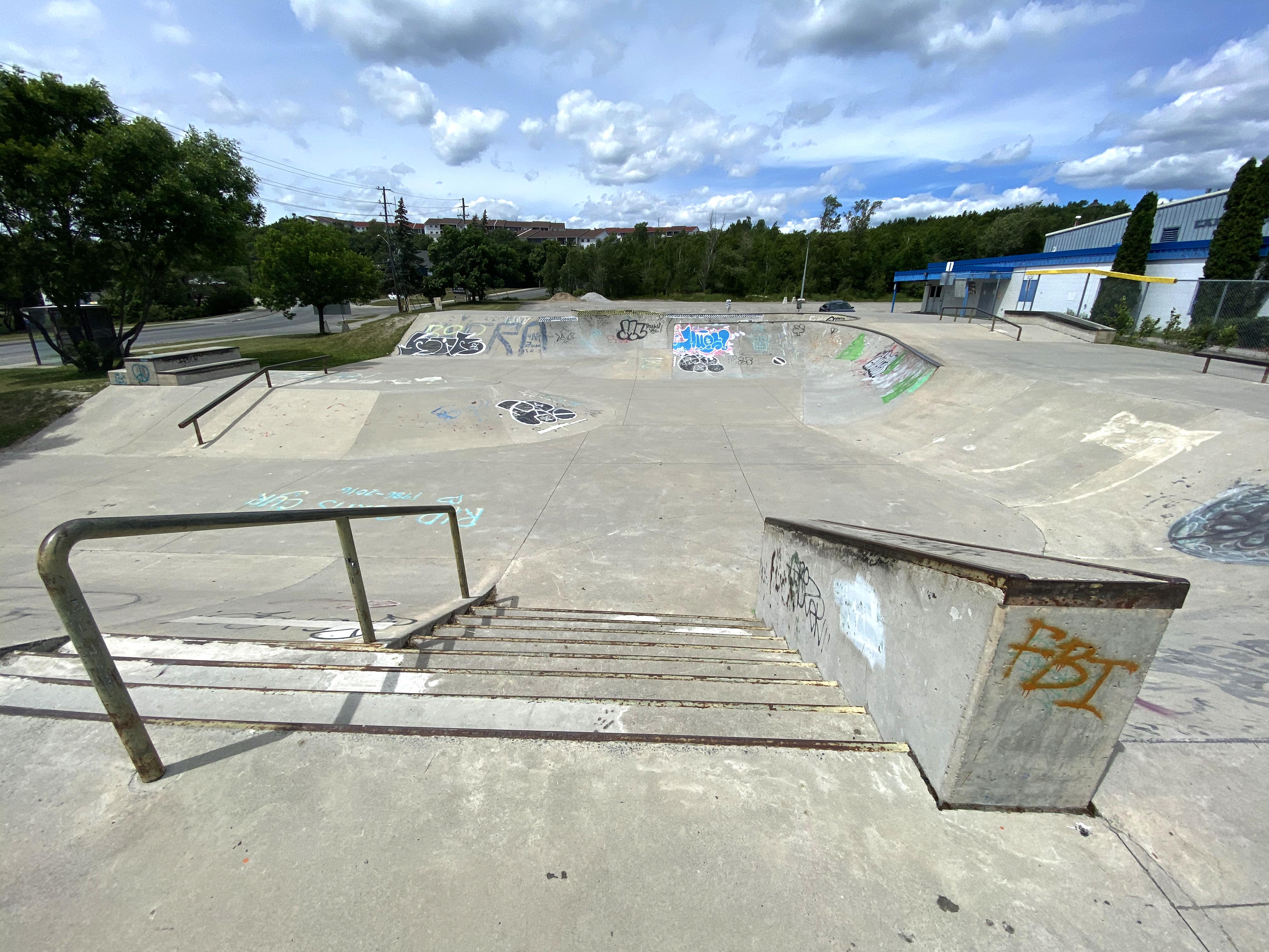 Sudbury Skatepark stair set