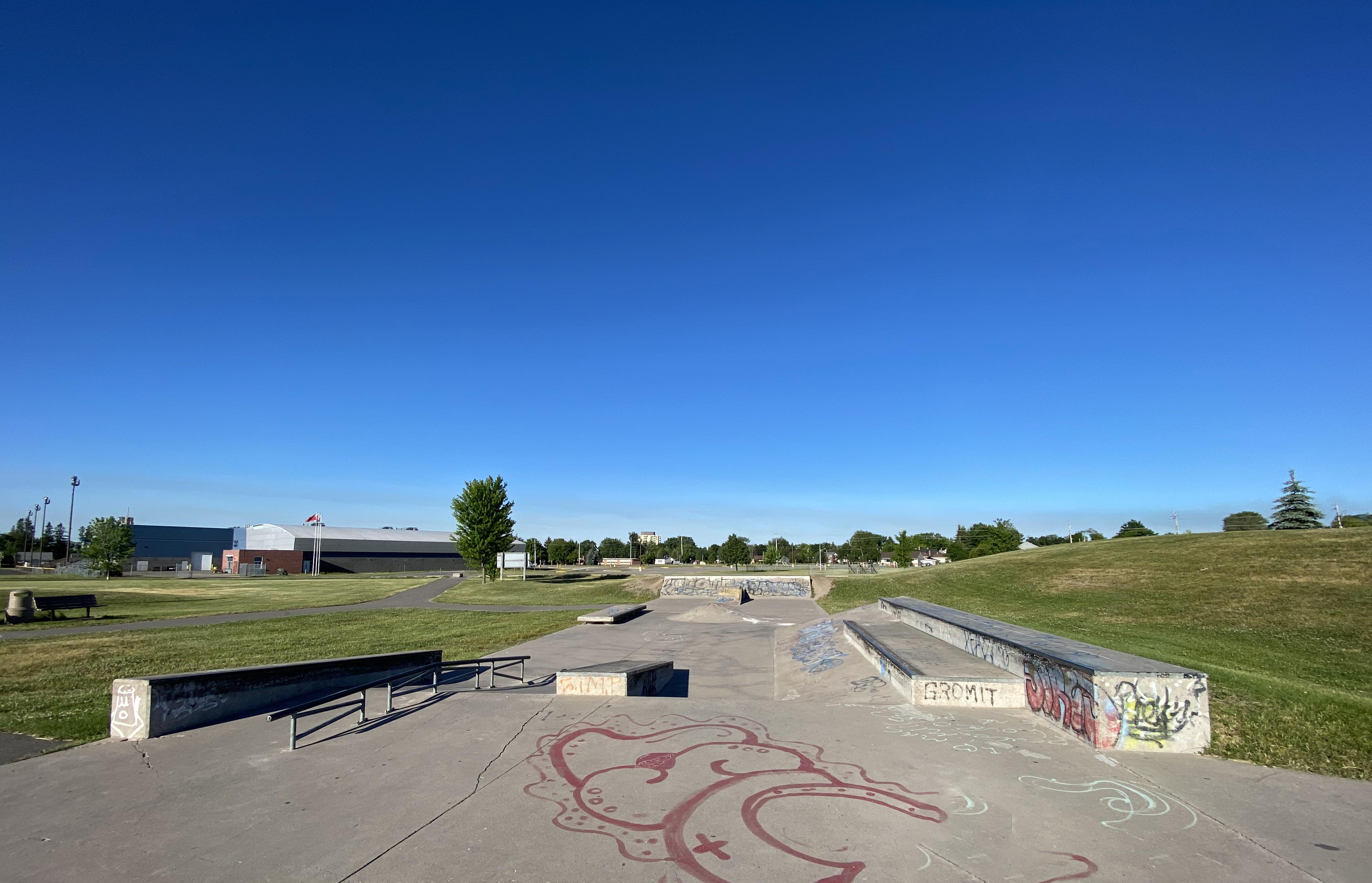 sault-ste marie skatepark rear section