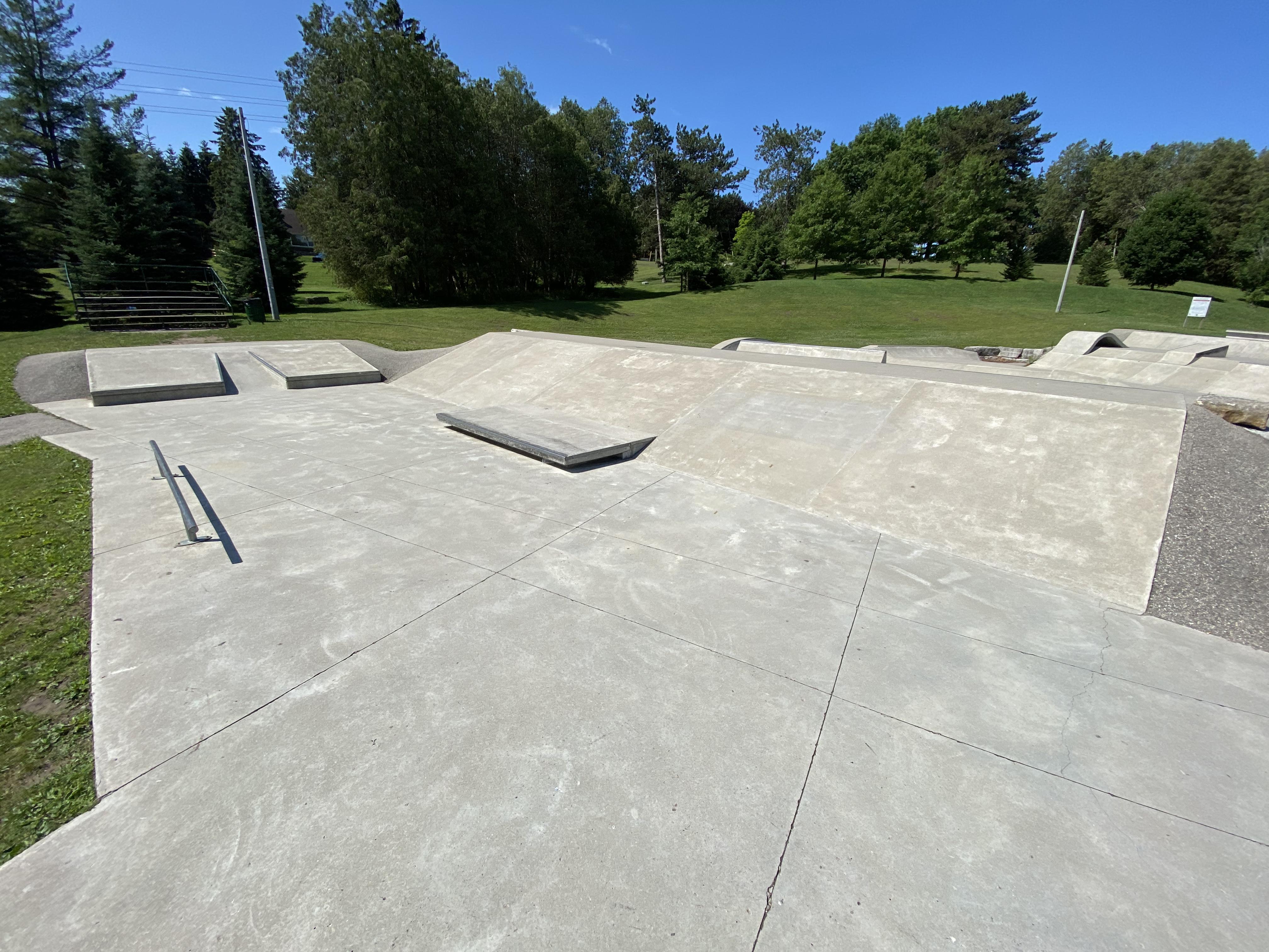 woodstock skatepark plaza section