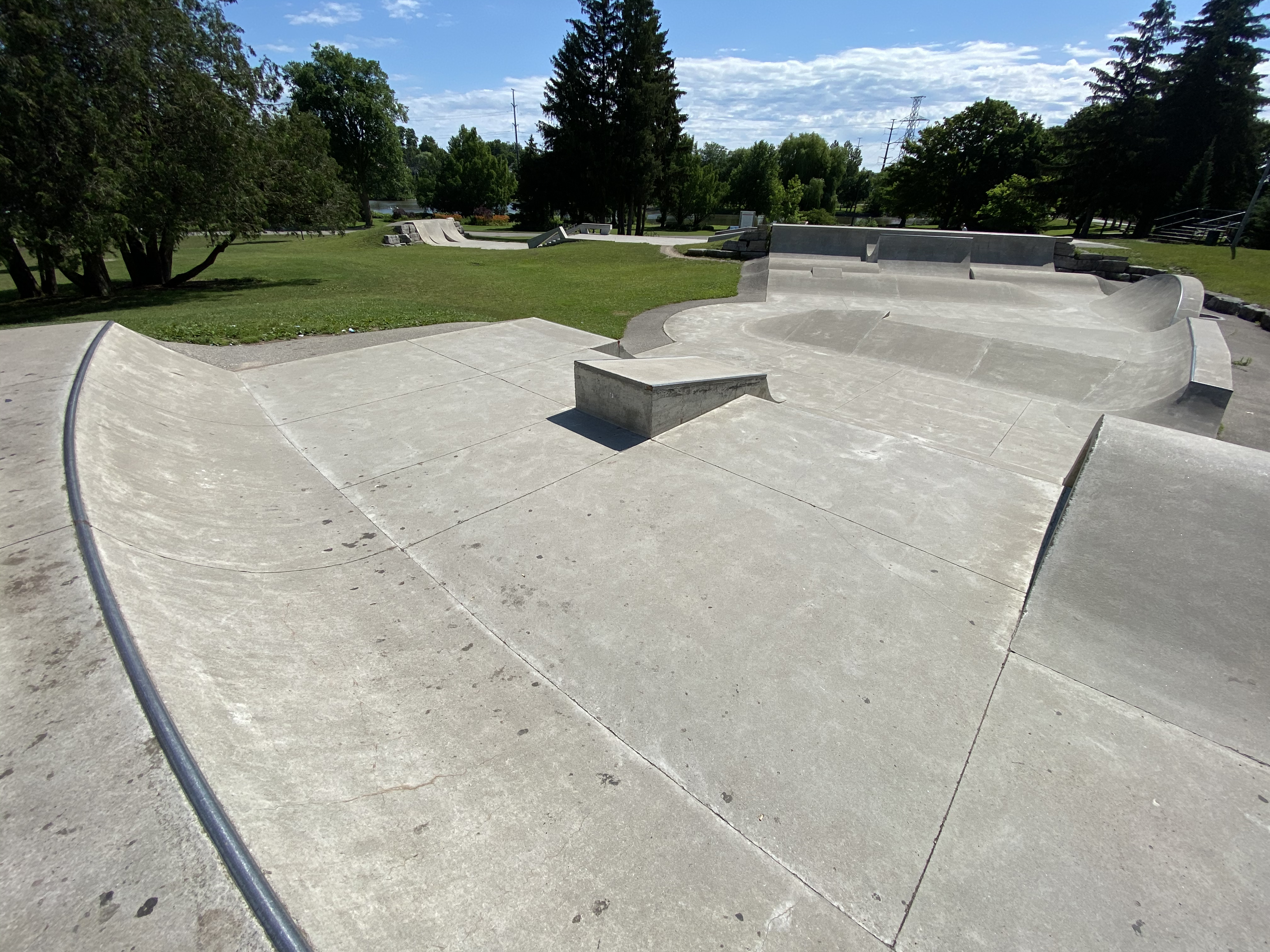 woodstock skatepark back end