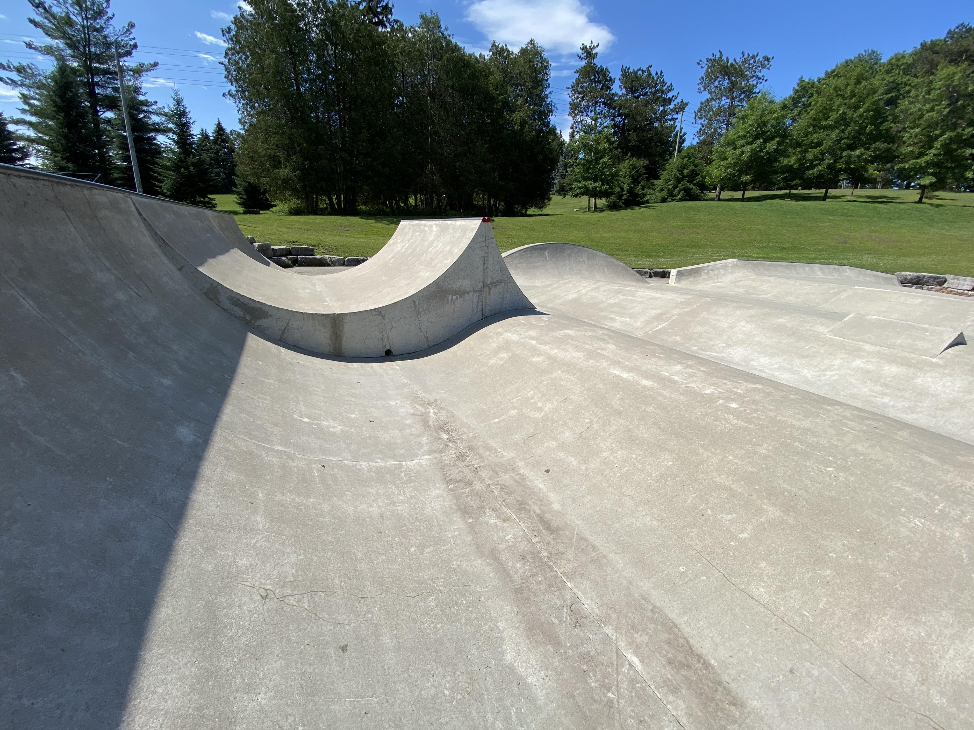 woodstock skatepark spine