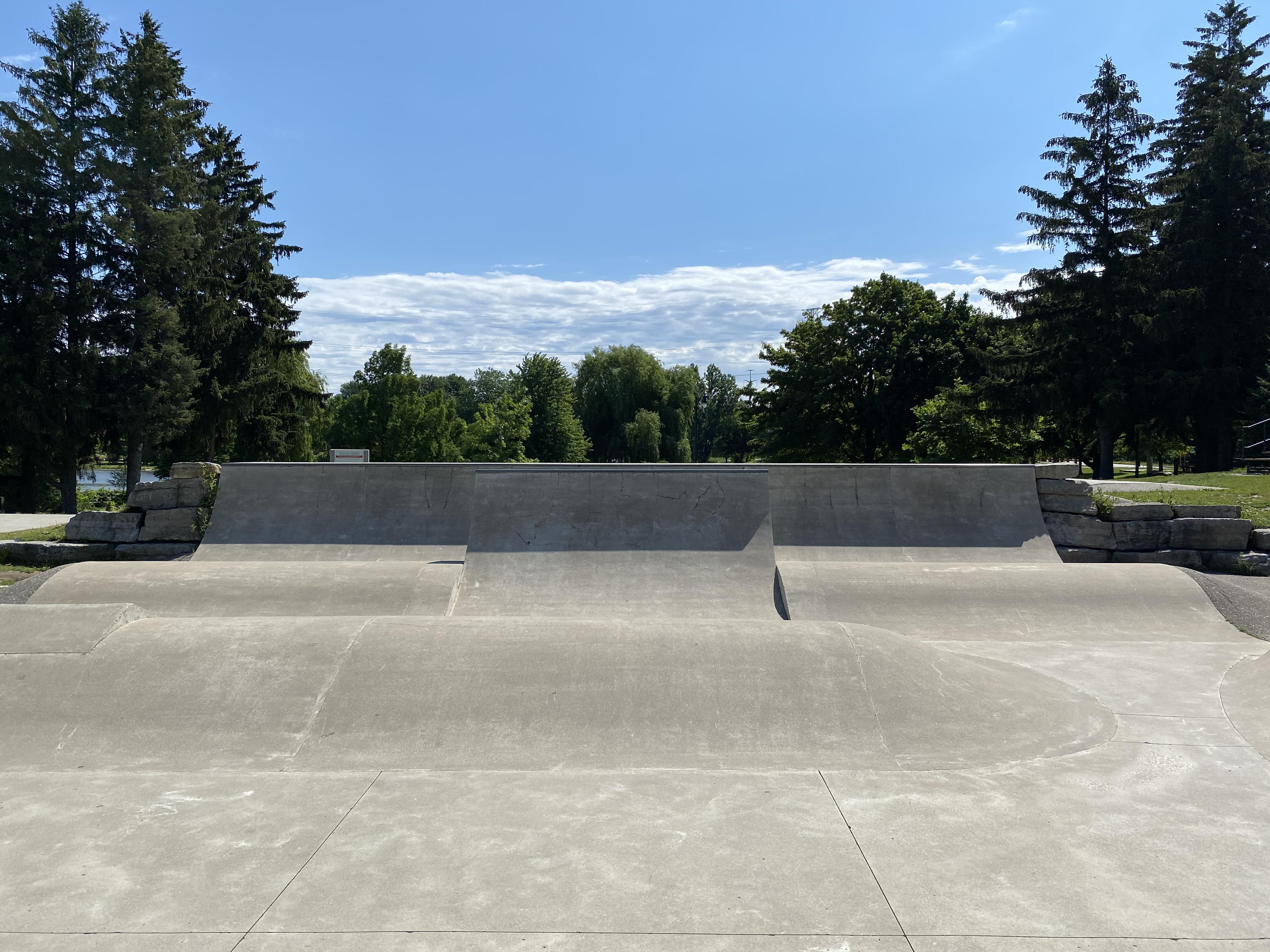 woodstock skatepark roller section