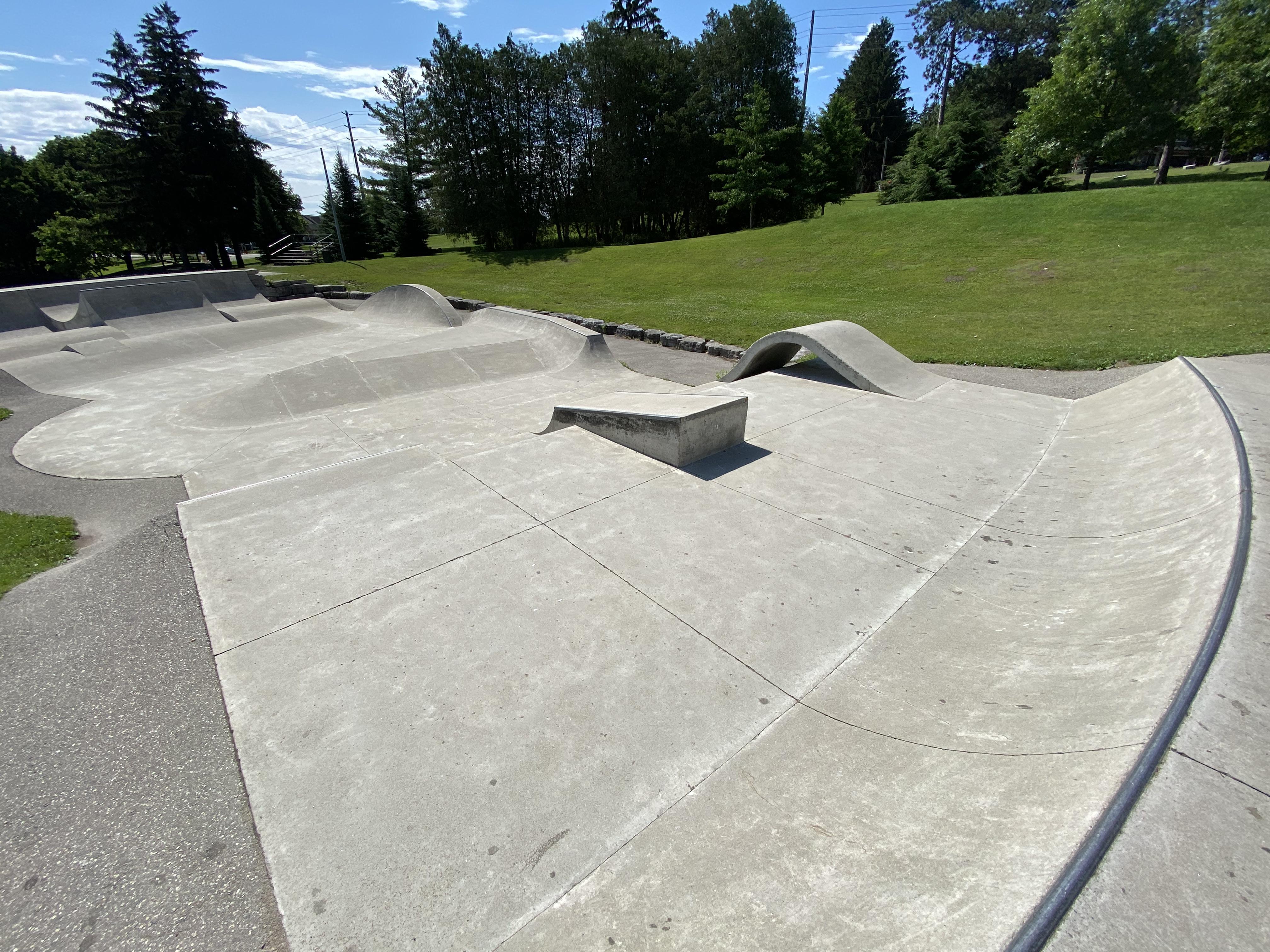 woodstock skatepark main section